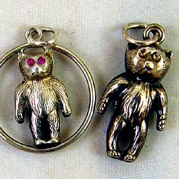 Teddy Charms c1909